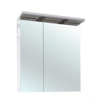 Зеркало-шкаф Анкона 70 белый