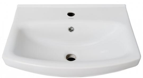 Тумба с раковиной Bellezza Анкона 60 белая напольная