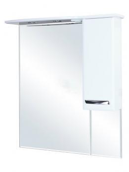 Зеркало-шкаф Балтика 90 R белый