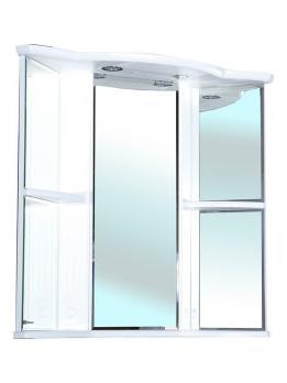 Зеркало-шкаф Венеция угловая 60 L белый