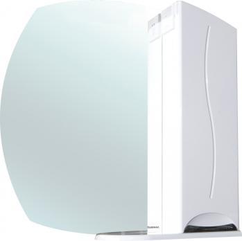 Зеркало-шкаф Глория 65 R белый