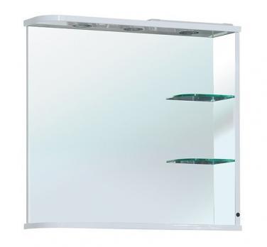 Зеркало Bellezza Рио 70 R белое