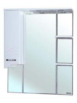 Зеркало-шкаф Дрея 75 L белый