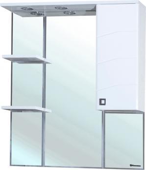 Зеркало-шкаф Джулия 85 R белый