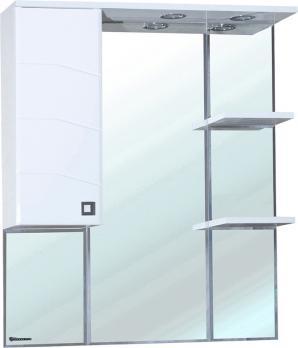Зеркало-шкаф Джулия 85 L белый
