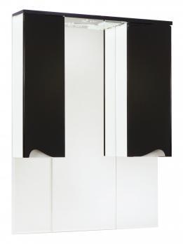 Зеркало-шкаф Эйфория 100 черный