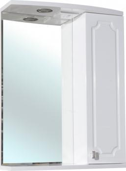 Кантри-55 зеркало белое прав. (свет.)