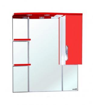 Зеркало-шкаф Bellezza Лагуна 75 R красное