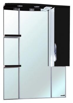 Зеркало-шкаф Bellezza Лагуна 75R черная