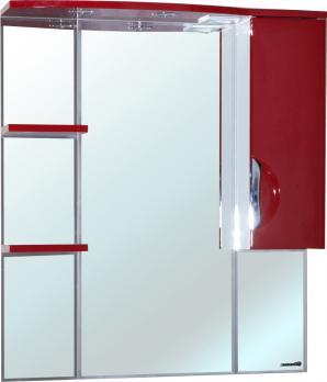 Зеркало-шкаф Bellezza Лагуна 85R красная