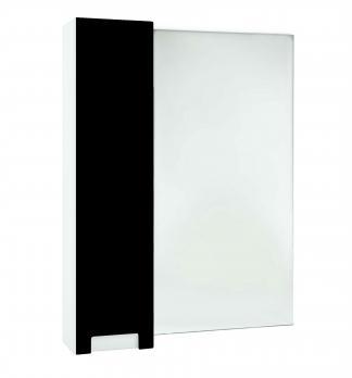 Зеркало-шкаф Bellezza Пегас 70 L черный