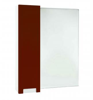 Зеркало-шкаф Bellezza Пегас 80 L красный