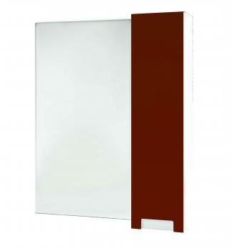 Зеркало-шкаф Bellezza Пегас 80 R красный