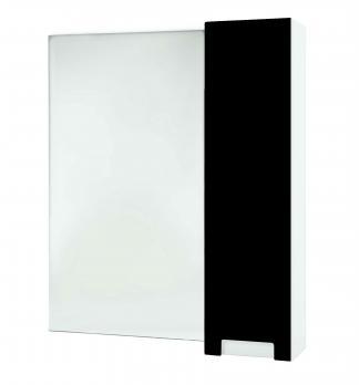 Зеркало-шкаф Bellezza Пегас 80 R черный