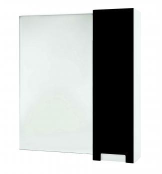 Зеркало-шкаф Bellezza Пегас 90 R черный