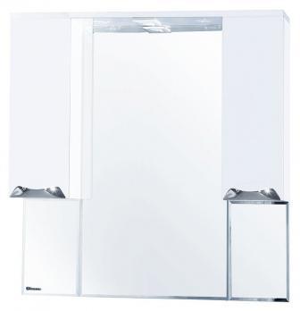 Зеркало-шкаф Bellezza Альфа 90 белый