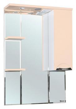 Зеркало-шкаф Bellezza Альфа 75 R бежевый