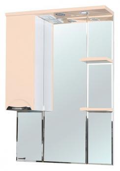 Зеркало-шкаф Bellezza Альфа 75 L бежевый