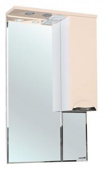 Зеркало-шкаф Bellezza Альфа 65 R бежевый