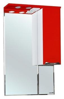 Зеркало-шкаф Альфа 55 R красный