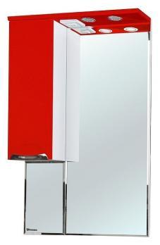 Зеркало-шкаф Bellezza Альфа 55 L красный