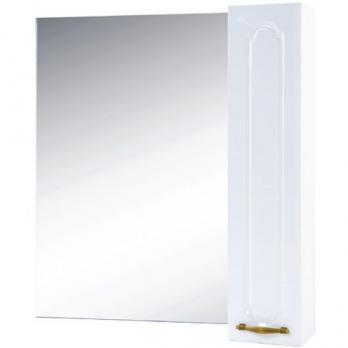 Зеркало-шкаф Bellezza Тиффани R 85 белый