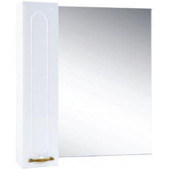 Зеркало-шкаф Bellezza Тиффани L 75 белый
