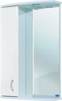 Зеркало-шкаф Астра 55 L белый