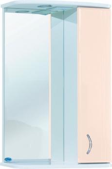 Зеркало-шкаф Астра 55 R бежевый