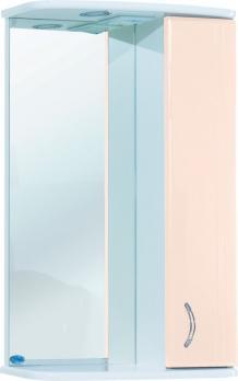 Зеркало-шкаф Астра 50 R бежевый