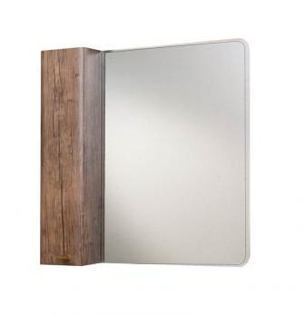 Зеркало-шкаф Bellezza Олимпия 80 L орех