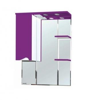 Зеркало-шкаф Эйфория 80 L фиолетовый