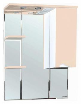 Зеркало-шкаф Эйфория 80 R бежевый
