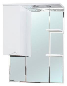 Зеркало-шкаф Эйфория 80 L белый