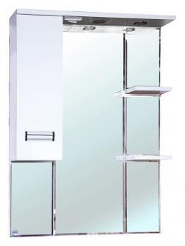 Зеркало-шкаф Bellezza Сиена 80 L белый