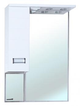 Зеркало-шкаф Bellezza Сиена 70 L белый