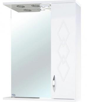 Зеркало-шкаф Элеганс 60 R белое