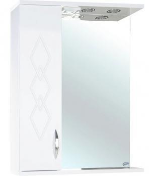 Зеркало-шкаф Элеганс 60 L белое