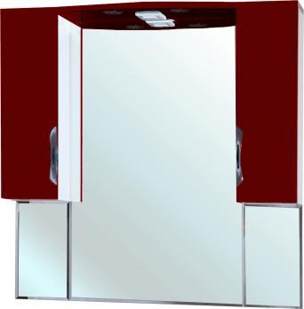 Зеркало-шкаф Bellezza Лагуна 105 красный
