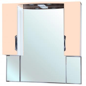 Зеркало-шкаф Bellezza Лагуна 105 бежевая