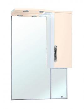 Зеркало-шкаф Bellezza Лагуна 65 R бежевая