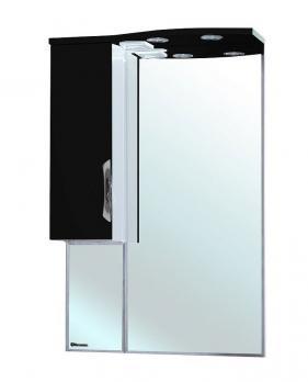 Зеркало-шкаф Bellezza Лагуна 65 L черная