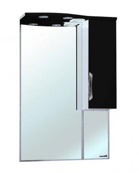 Зеркало-шкаф Bellezza Лагуна 65 R черная