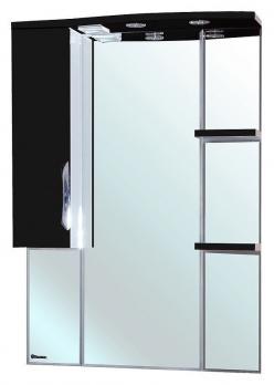 Зеркало-шкаф Bellezza Лагуна 75L черная
