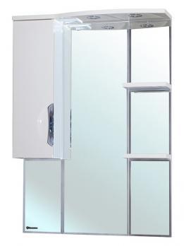 Зеркало-шкаф Bellezza Лагуна 75 L белое