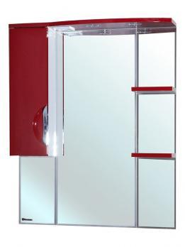 Зеркало-шкаф Bellezza Лагуна 85L красная