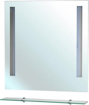 Зеркало Bellezza Ника 90 с полкой и с подсветкой