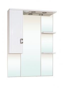 Зеркало-шкаф Bellezza Миа 85 L белый