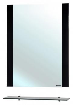 Зеркало с полкой Рокко 70 черное