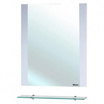 Зеркало с полкой Рокко 80 белое